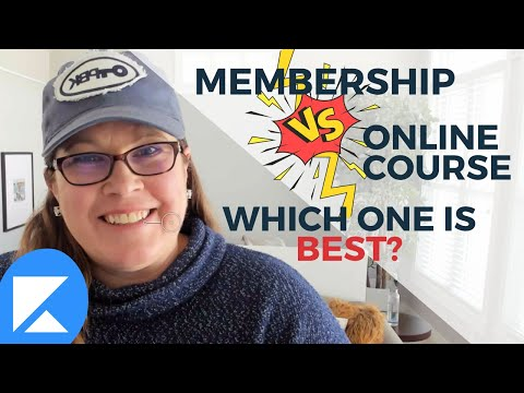 Memberships vs Online Courses – Which Should You Use?